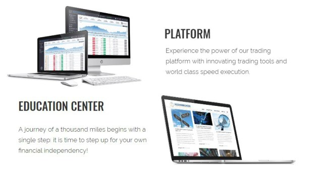 xcoinbroker.com Trading platform