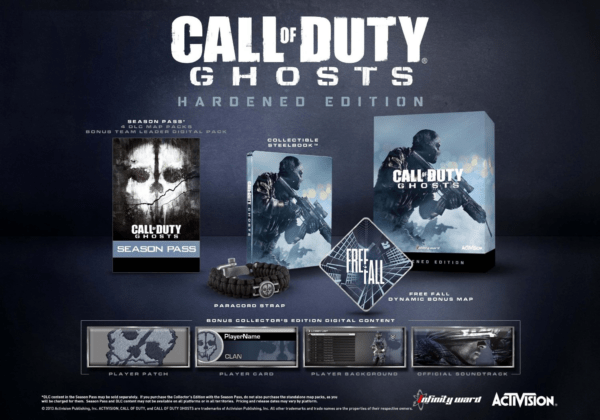 Call of Duty Ghosts Hardened Edition - PlayStation 4