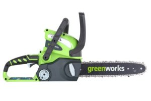 GreenWorks-20292-G-MAX-40V-Li-Ion-12-Inch-Cordless-Chainsaw-Tool-Only-0