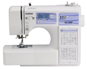 Brother-HC1850-Computerized-Sewing-and-Quilting-Machine-with-130-Built-in-Stitches-9-Presser-Feet-Sewing-Font-Wide-Table-and-Instructional-DVD-0