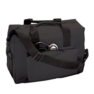 ADC-1024-NursePhysician-Nylon-Medical-Bag-Black-0