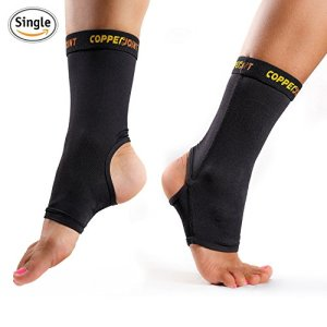 CopperJoint-Compression-Ankle-Sleeve-1-Plantar-Fasciitis-Sock-GUARANTEED-Recovery-Brace-Copper-Infused-Arch-Support-Wear-Anywhere-Medium-Single-Sock-0