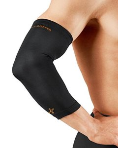 Tommie-Copper-Mens-Recovery-Vantage-Elbow-Sleeve-Black-Large-0