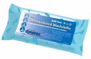 Washcloths-Premoistened-Disposable-Refill-Pack-of-64-0