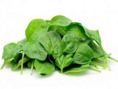 špenát Potraviny pre zdravé vlasy
