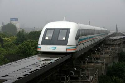 Shanghai Maglev Najrýchlejší vlak