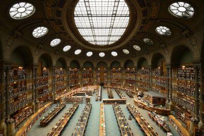 biblioteca nacional de francia Najväčšie knižnice