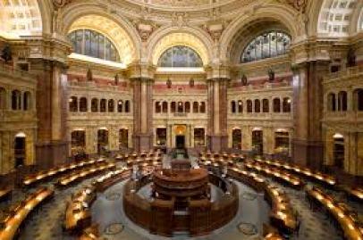 congress library Najväčšie knižnice