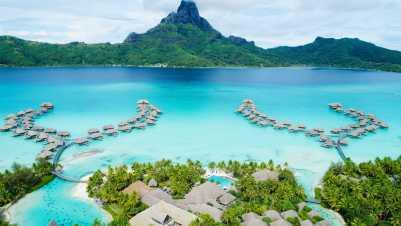 Bora Bora Najkrajší ostrov