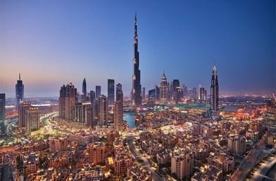 2. Burj Khalifa, Dubai - 829.8m Najväčšia budova