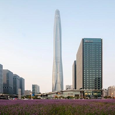 9. Tianjin Chow Tai Fook Binhai Center , Tianjin - 530.4m