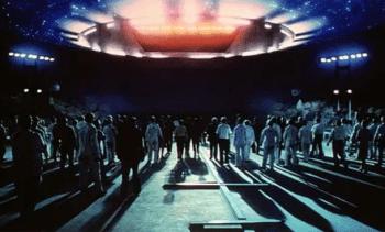 8. Blízke stretnutie tretieho druhu Sci-fi filmy