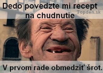 memem ako schudnuť