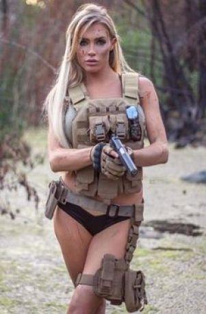 žena v armade