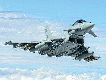 Eurofighter Typhoon Najrýchlejšia stíhačka