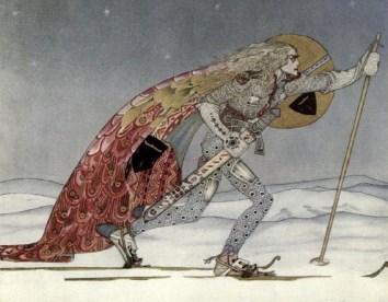 Vikingovia lyžovali pre zábavu.