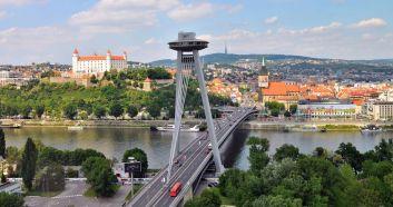 Bratislava Najväčšie mestá na Slovensku