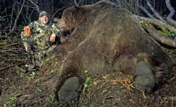 Medveď hnedý 10 najväčších ulovených zvierat