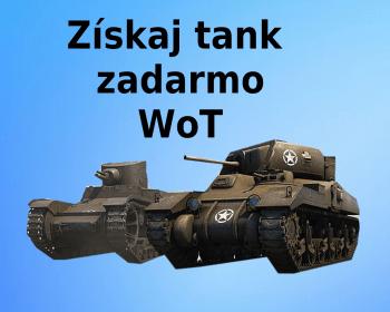 ako získať tank zadarmo WoT