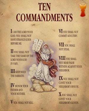 10 božích prikázaní