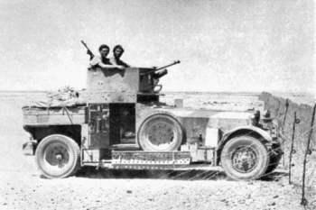 Rolls-Royce Armoured Car, 1914