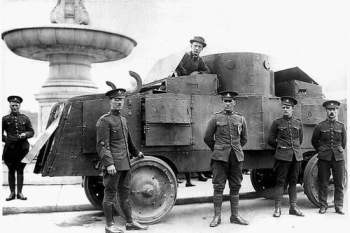 Jeffery armored car