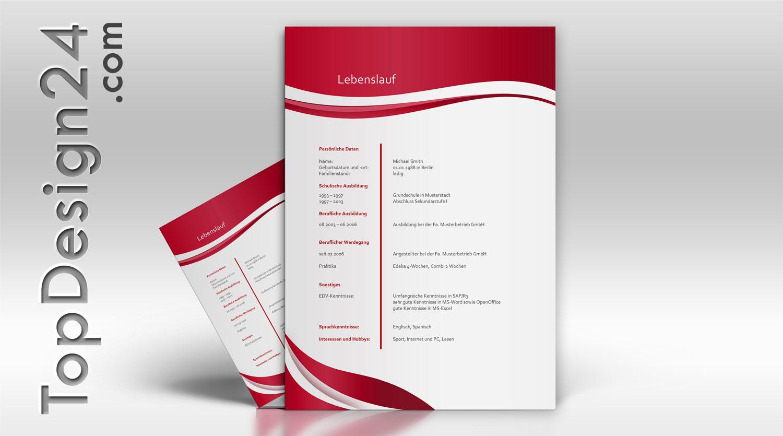 Bewerbungsvorlage topdesign24 musterbewerbung 2014 for Praktikum design