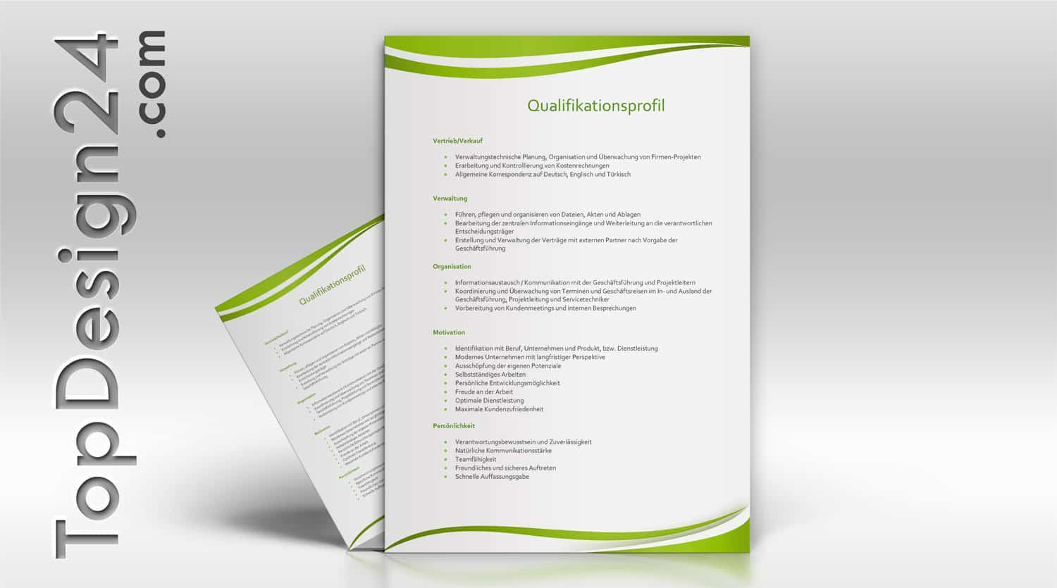 Qualifikationsprofil – TopDesign24