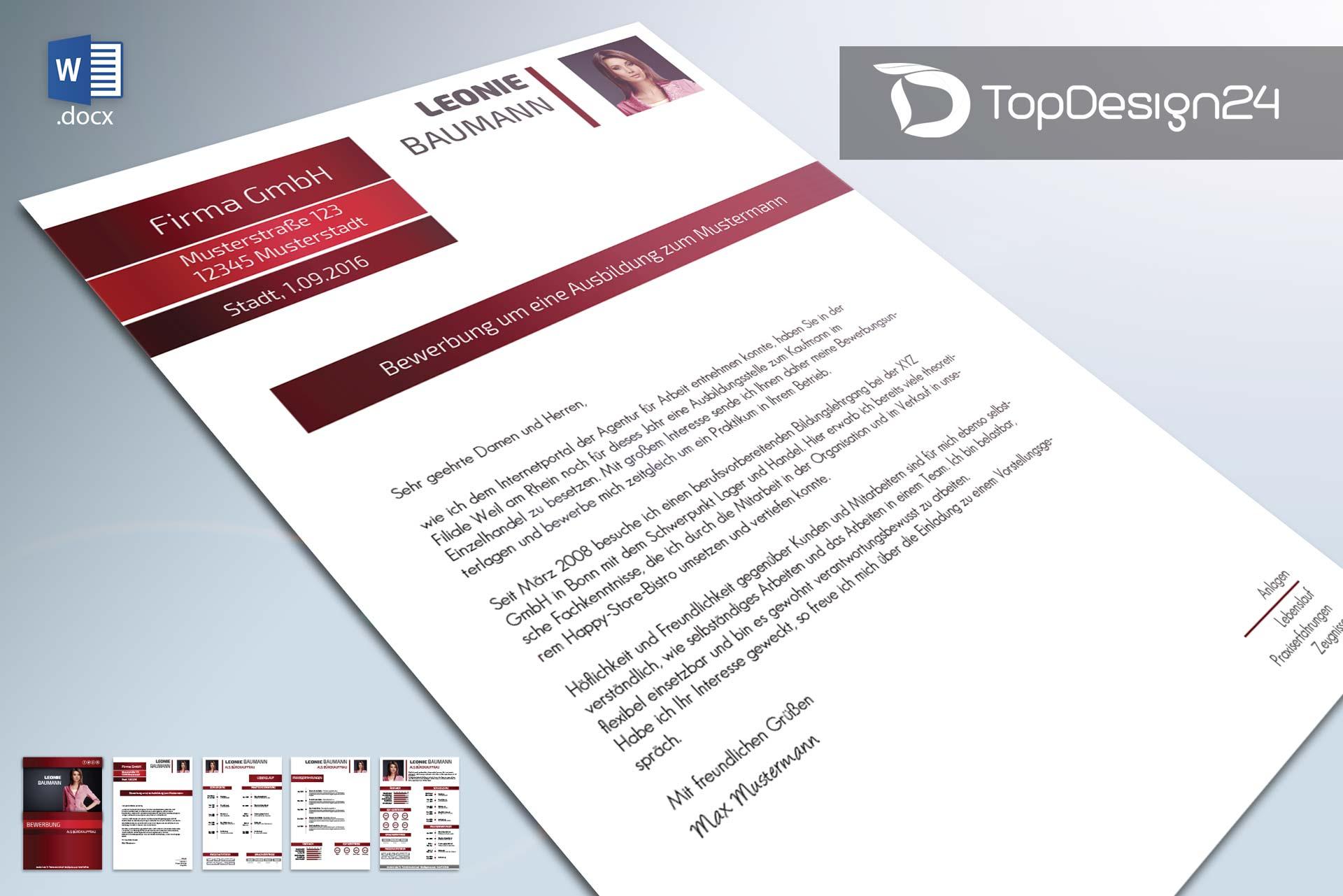 Online bewerbung muster topdesign24 Create a blueprint online