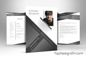 Bewerbung Design klassisch