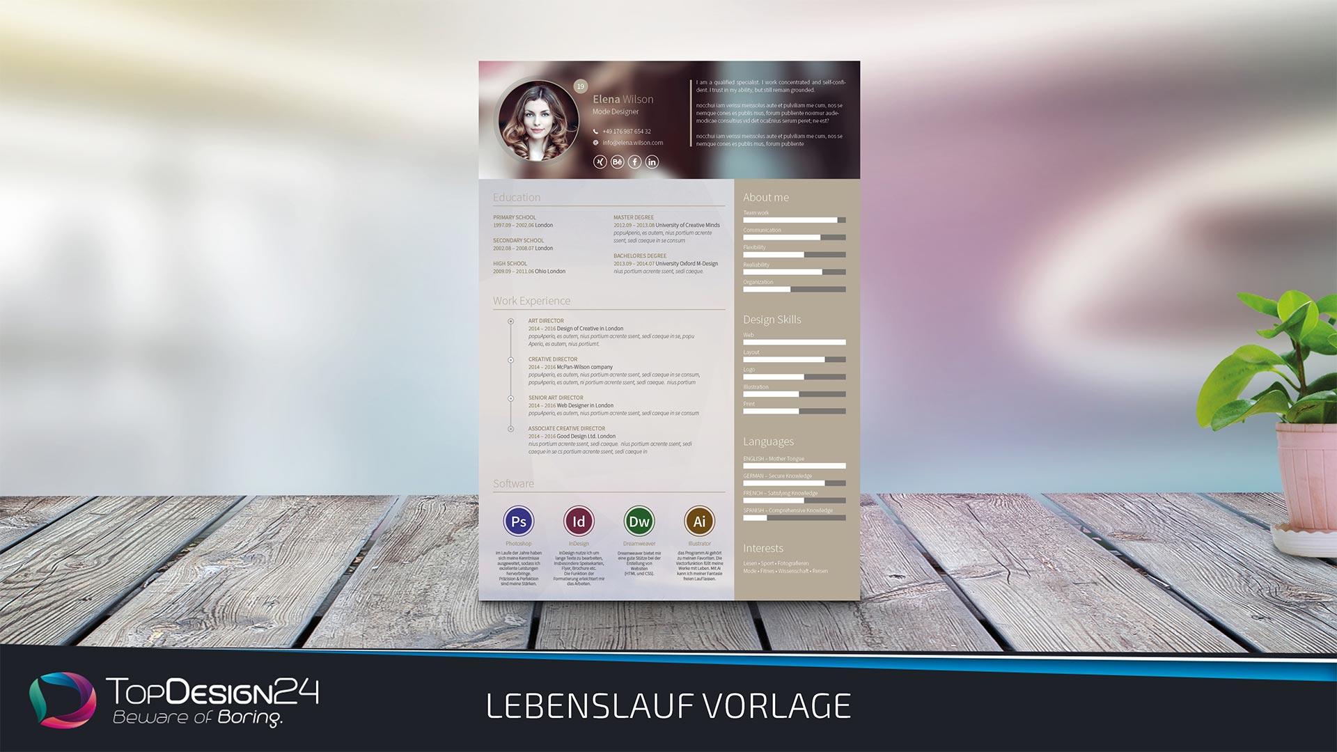 Berühmt Lebenslaufformat Für Grafikdesigner Pdf Ideen - Entry Level ...