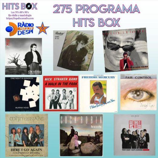 275 Programa Hits Box - Topdisco Radio - Dj- Xavi Tobaja