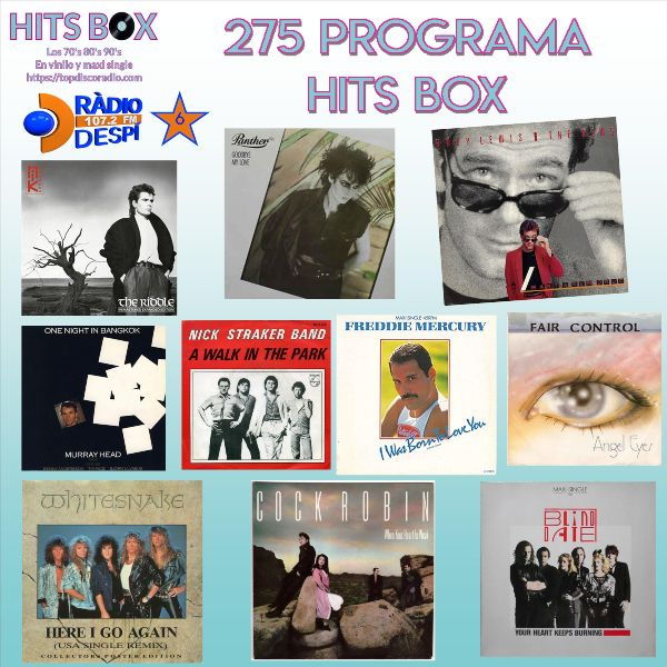 275 Programa Hits Box - Topdisco Radio - Dj- Xavi Tobaja