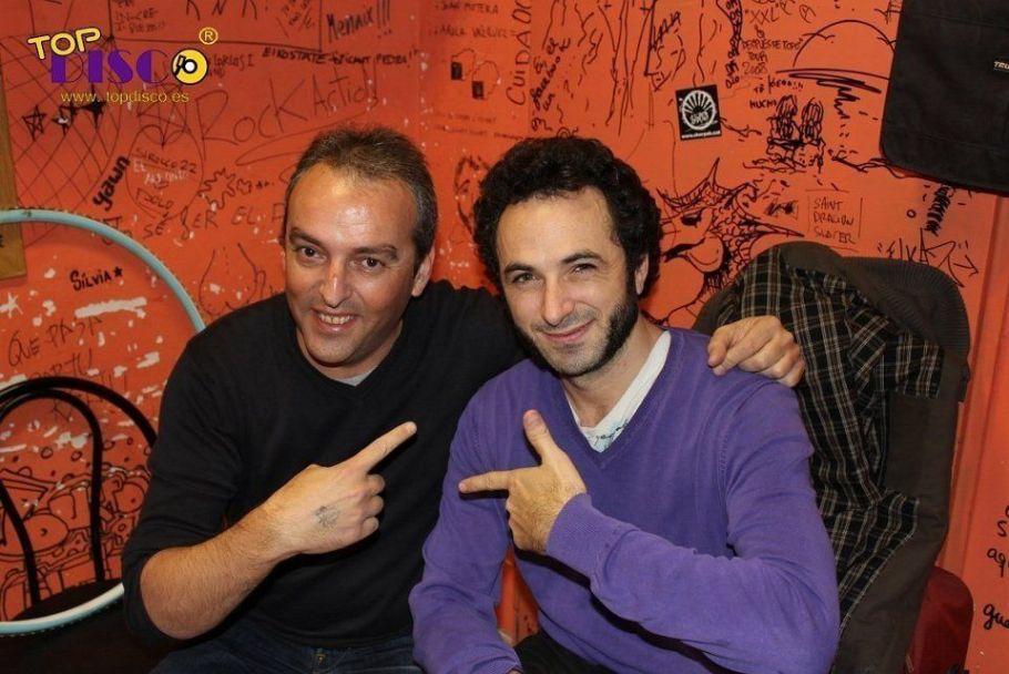 Caïm Riba y Xavi Tobaja de Topdisco Radio