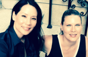 Actress Lucy Liu Unveils Her New Product Line