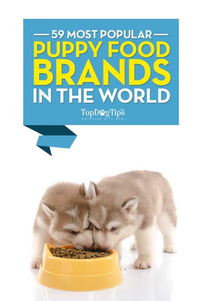 59 Most Popular Puppy Food Brands