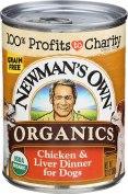 Newman's Own Organic Dog Food