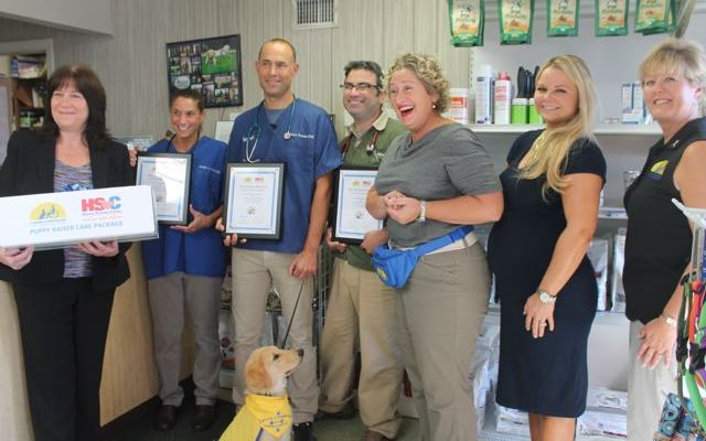 Puppy Raisers and Their Vets Are Receiving Special Care Packages