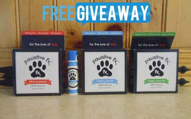 Dog Product Giveaway - Pawsitive FX Dog Products
