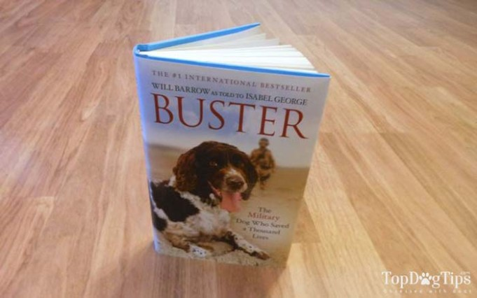 Dog Book Review - Buster - The Military Dog That Saved a Thousand Lives