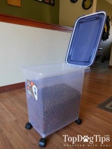 My best dog food storage container pick