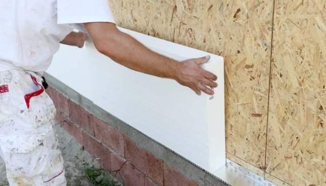 how to install styrofoam on dog house winter