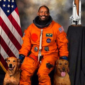 This Astronaut Must Really Love His Dogs
