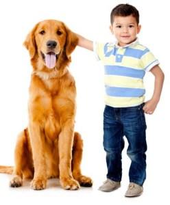 Dogs help kids develop