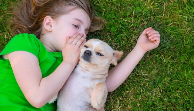 Loving a Pet Helps Reduce Stress on Children of Military Families