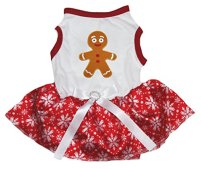Gingerbread Dog Dress