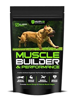 MVP K9 Supplements Muscle Builder and Performance for Dogs