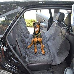 Pettom Cutton Dog Car Seat Cover