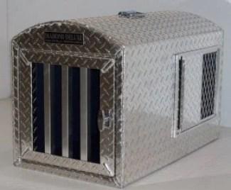 Diamond Deluxe Aluminum Dog Crate