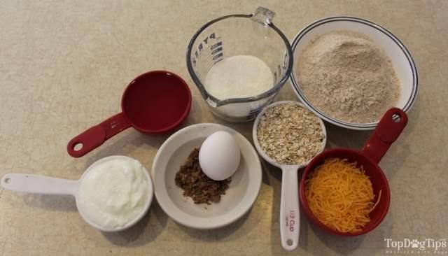 Cheesy Yogurt Dog Treats Recipe